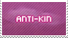Anti-kin stamp by DaRk-Stamps