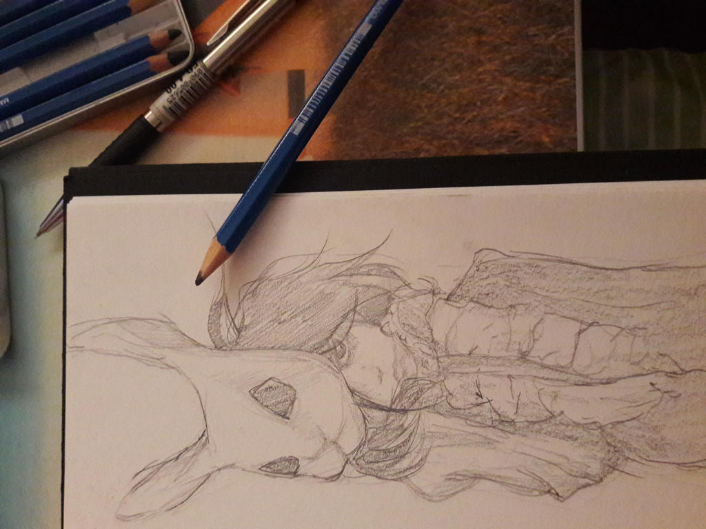 *wip* Bunny Mask by skirniskolops
