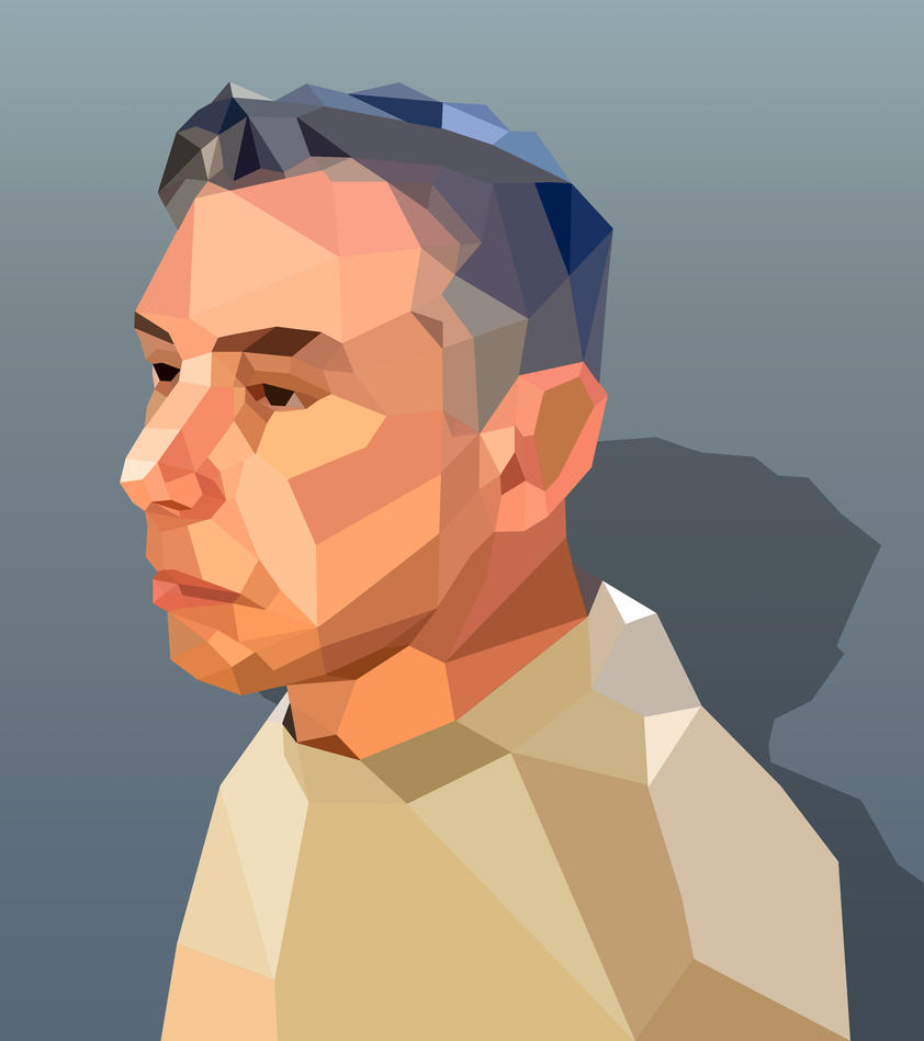 Marks Low Poly Head by obxrussell