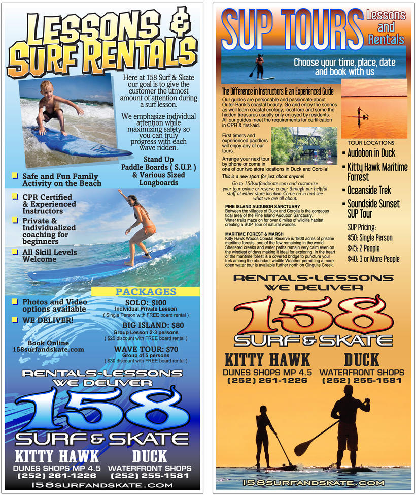 158 Rack Card by obxrussell