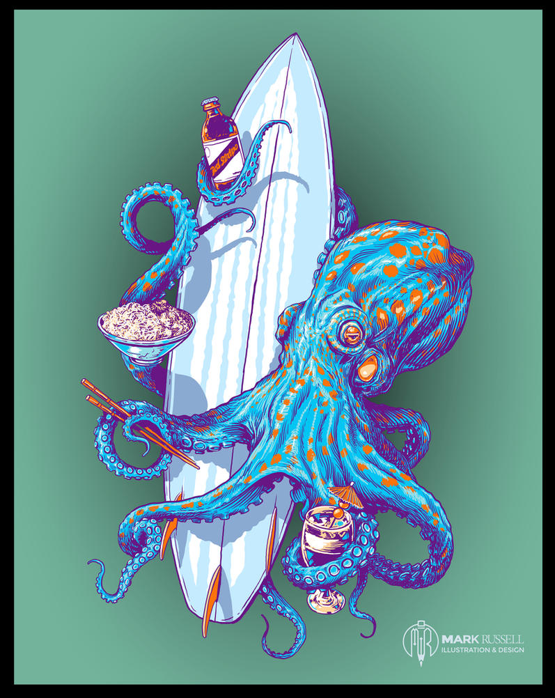 Octo-Board by obxrussell