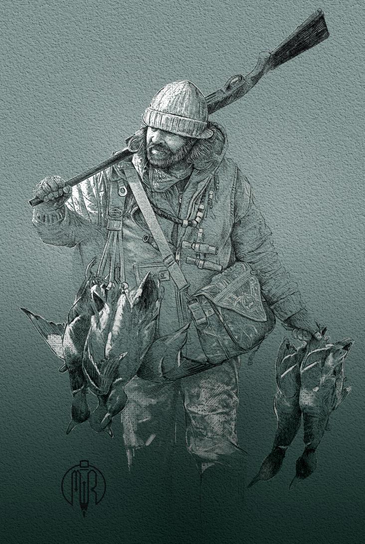 HunterSketch by obxrussell