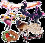 dinobirds and whatnot