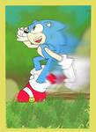 Fun Sonic Flat by E-123Nut-mega