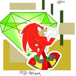 Knuckles And Master Emerald