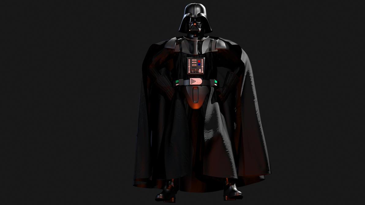 Darth Vader 3D By Teonardo On DeviantArt