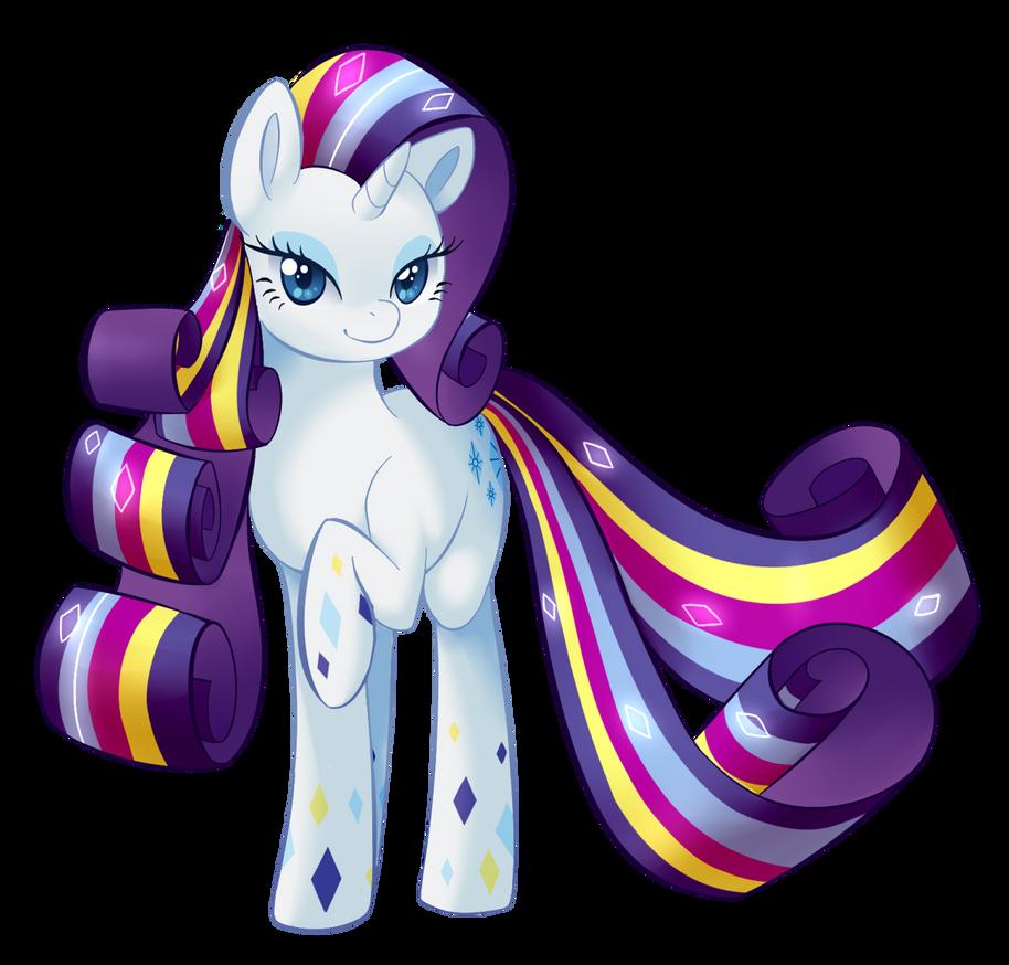 Rainbow Power Rarity by UncertainStardust