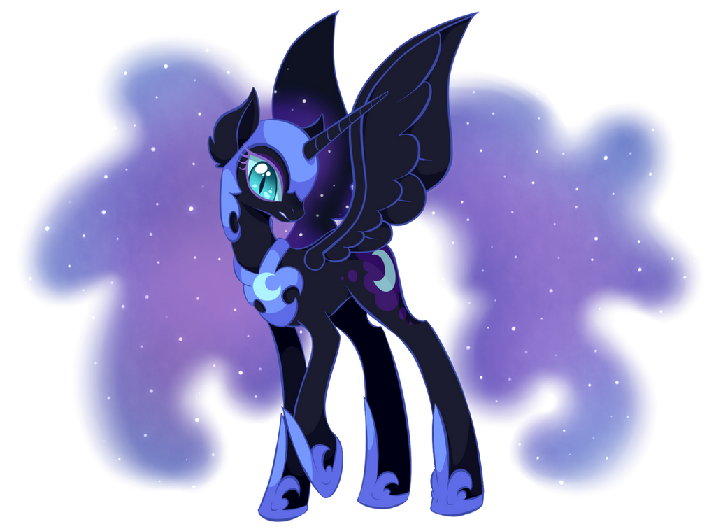 Nightmare Moon by UncertainStardust on DeviantArt
