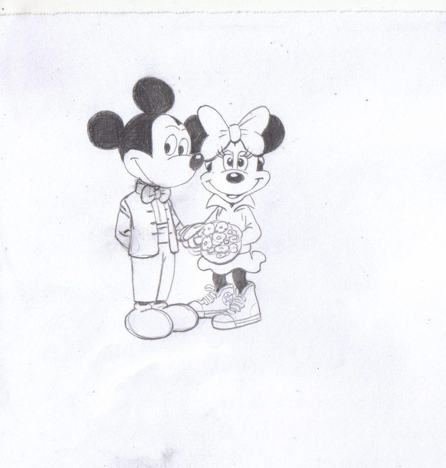 Mickey and Minnie by Rim-Frost