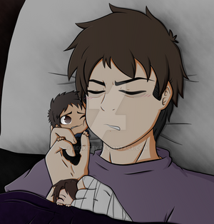 Ryan: A man and his chibis~
