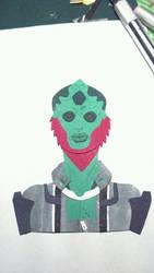 Thane Krios - Cutout by Dragon-Fire-Hair