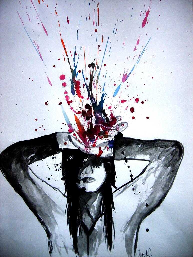 Head Splat by aLana-a-a-a