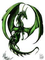 Green Dragon by KabaMaroudis