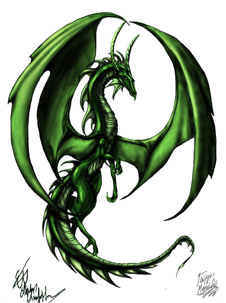 green dragon by kabamaroudis on deviantart. Black Bedroom Furniture Sets. Home Design Ideas