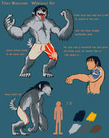 Terry Bouchard -Werewolf Ref by hurricane128
