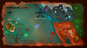 world map of KORD by hurricane128