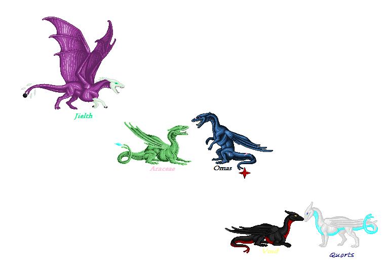 Dragons by HarmonyClawDraws