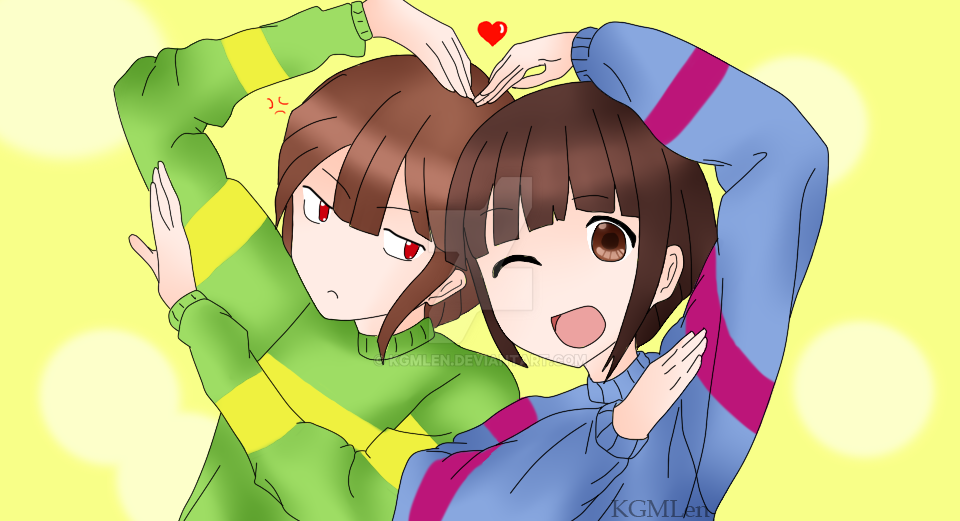 How to Draw Chara From UNDERTALE - DrawingNow