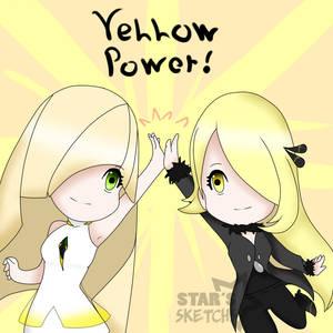 Yellow Power - Pokemon, Cynthia and Lusamine