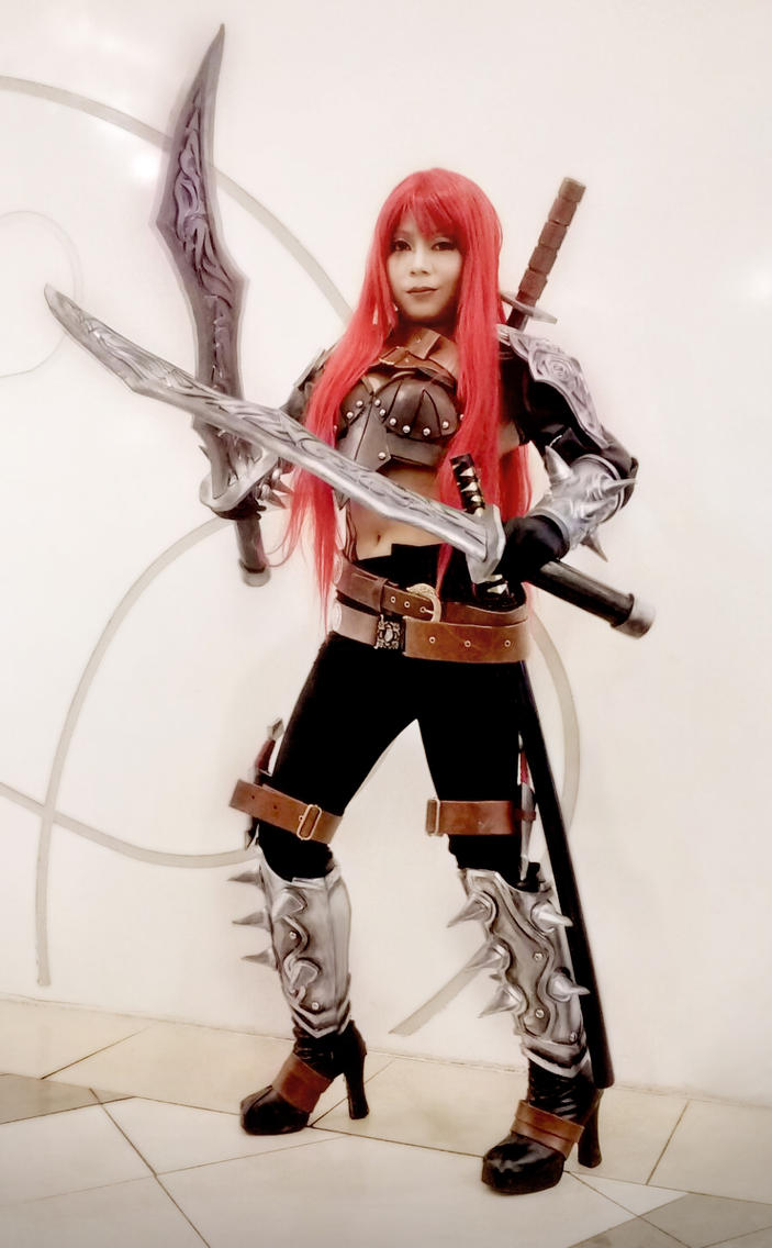 Katarina League of Legend by chidori-sagara