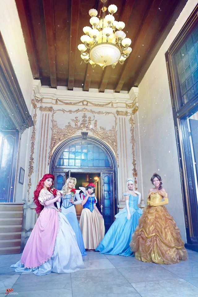 Classic Disney Princesses by chidori-sagara
