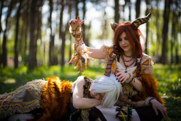 Wood Spirits by ElenaHimera