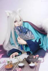 Tomoe from Kami-sama Hajimemashite by ElenaHimera