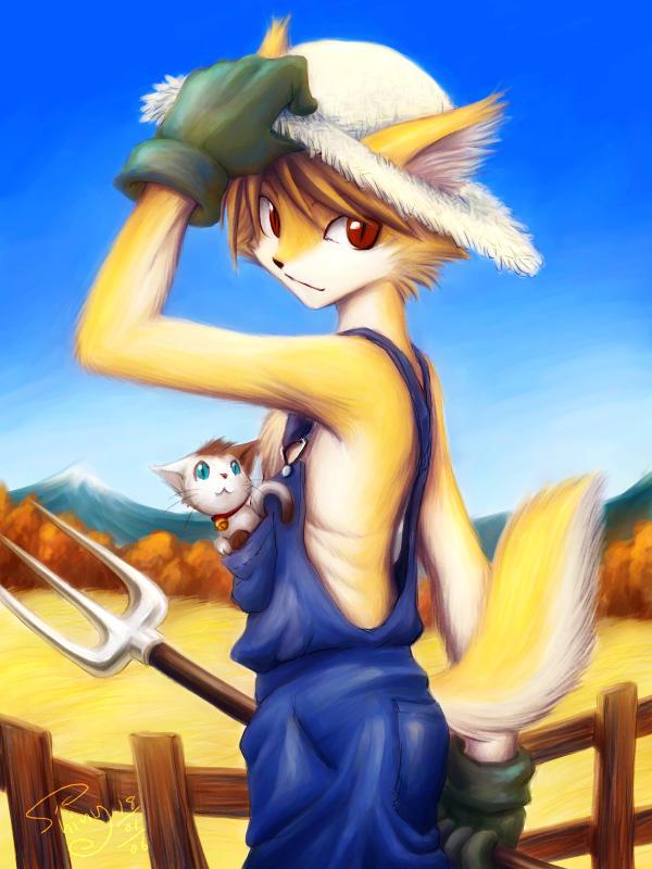Sun Farming by Shin-Wolf