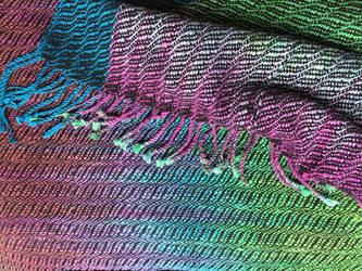 Black Opal Shawl Closeup by Gretchdragon