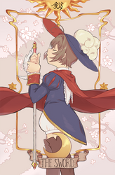 the sword - print by kaeryi