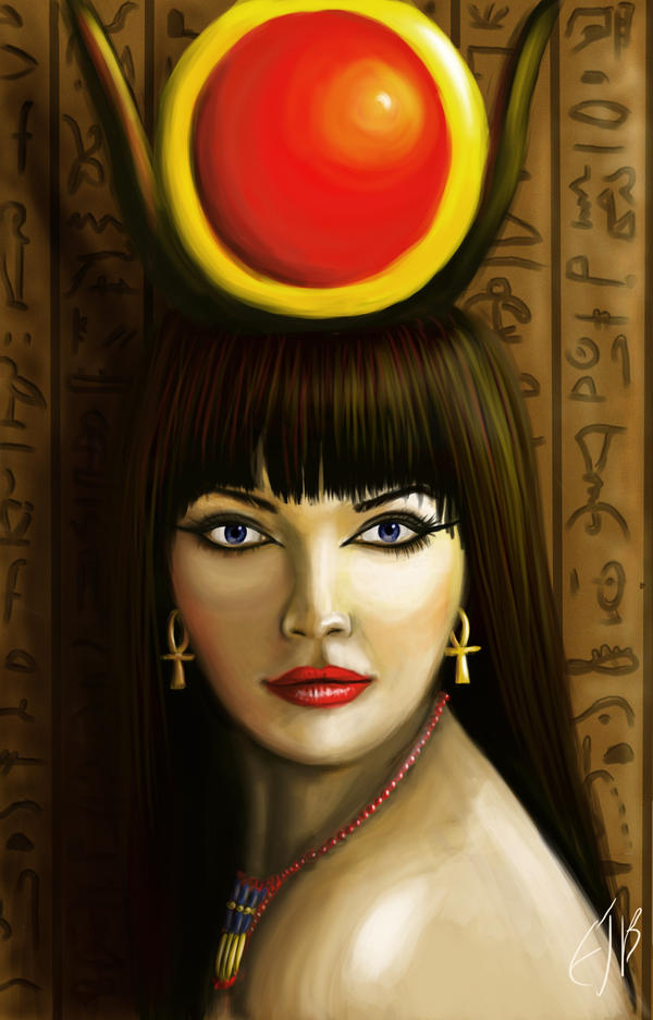 Hathor by e5ther