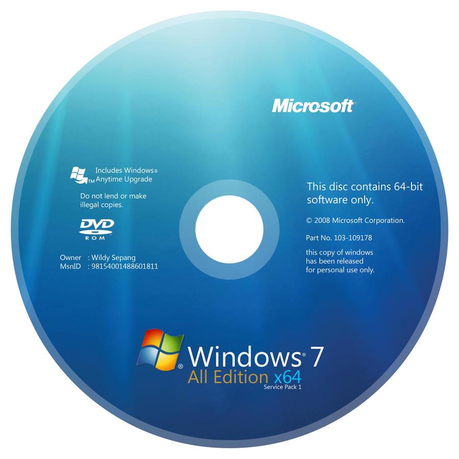 windows 7 aio x64 dvd cover by dyrealsa on deviantart. Black Bedroom Furniture Sets. Home Design Ideas