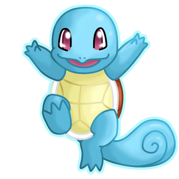 Squirtle Carapuce 205425605 on Mon Core