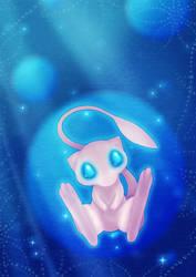 Mew bubble by Kaweii