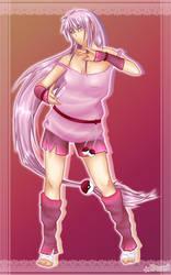 Mew trainer - pink power by Kaweii