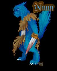 Blue Shaamah Nunn by Kaweii