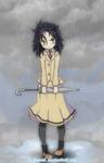Kuroki Tomoko: Umbrella is for loosers.