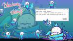 [UPDATED] Undertale - Blueberry Shimeji (Win/Mac)