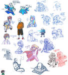 Doodles, request and others