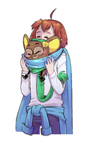 [Commission] Natsume and Bleiiss by Kaweii