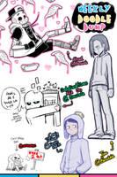 [Patreon] Doodle dump #34 by Kaweii