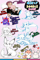 [patreon] doodle dump #44 by Kaweii