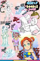 [patreon] doodle dump #49 by Kaweii