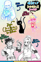 [patreon] doodle dump #54 by Kaweii