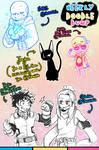 [patreon] doodle dump #54
