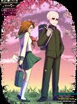 [Commission] Dee and Kayla - SailorFuku and Senpai