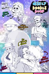 [Patreon] Doodle dump #71 by Kaweii