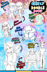[Patreon] Doodle dump #77 by Kaweii