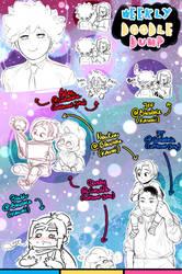 [Patreon] Doodle dump #78 by Kaweii