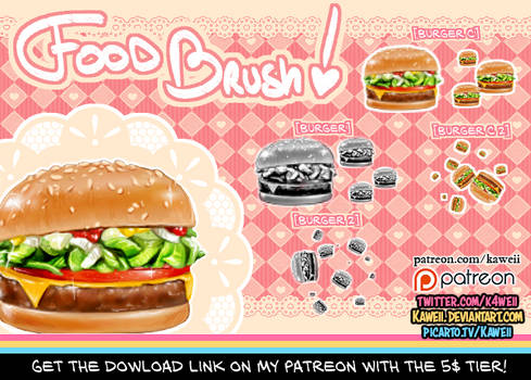 [Brush] Burger! (preview)